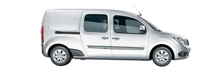 The Citan crew van