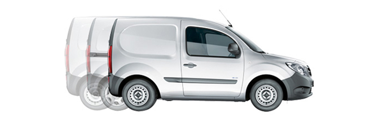 The Citan panel van.